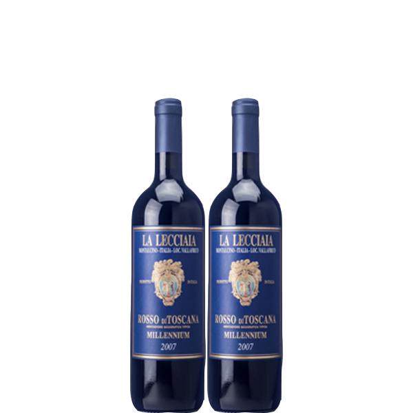 【送料無料】レッチャイア・ミレニアム 2010年 750ml×2本セット【数量限定 イタリア 赤ワイン おすすめ熟成 飲み頃 】