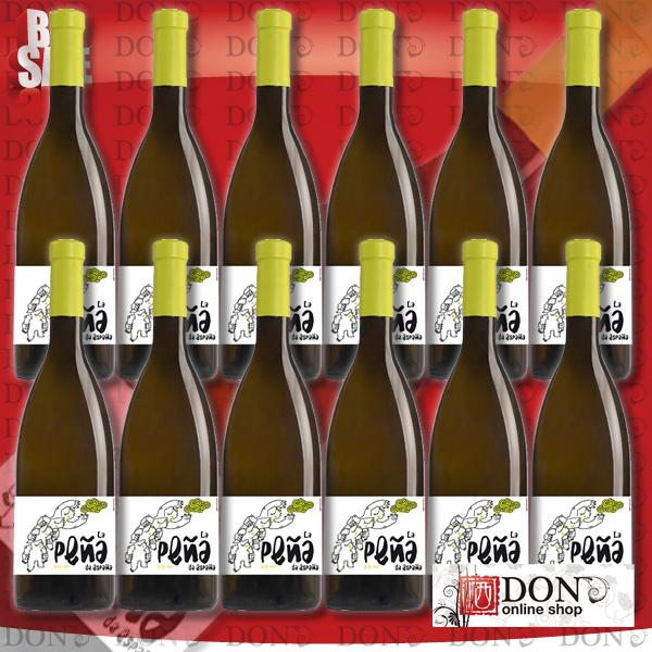 【12本セット】ヴィヴェロス・カンブラ ラ・ペーニャ ブランコ La Pena, Blanco 2014 スペイン 白ワイン 750ml