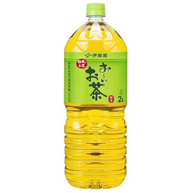 国産茶葉を100%使用した 激安セール 香り高く まろやかで味わい深い緑茶飲料です 無香料 無調味 伊藤園 6本 PET お~いお茶 緑茶 1ケース 2000ml 35%OFF