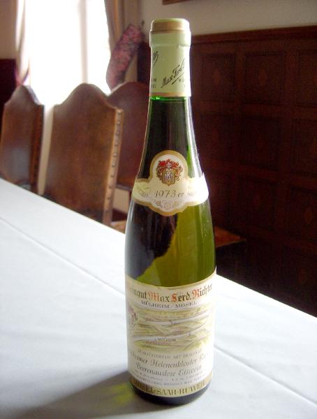 【ヴィンテージワイン】ミュールハイマー ヘレネンクロスター リースリング ベーレンアウスレーゼ アイスワイン 1973年 白 極甘口 375ml ドイツ
