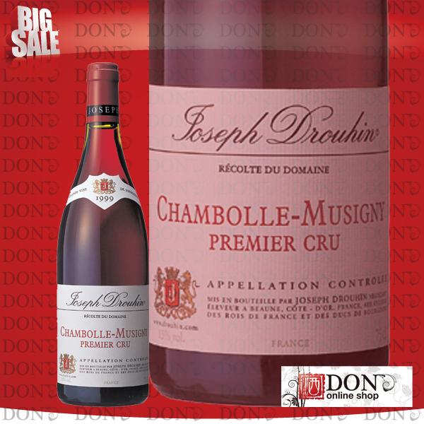 【赤ワイン】 メゾン・ジョゼフ・ドルーアン シャンボール・ミュジニー プルミエ・クリュ フランス 赤ワイン 750ml