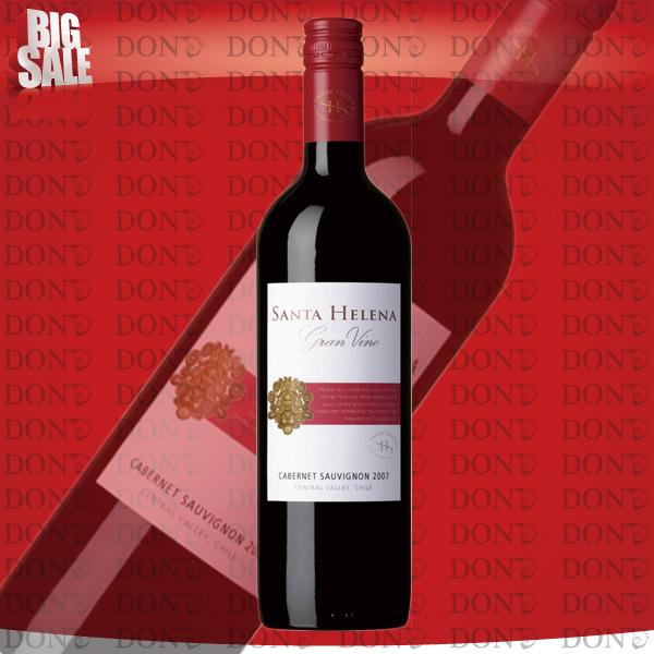 智利圣海伦娜-格兰-酒--赤霞珠红葡萄酒 750 毫升