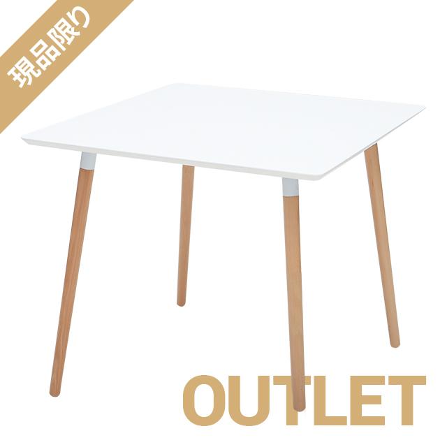 \ 1品限りのアウトレット大幅値下げ /コーヒーテーブル[カラー] ホワイト※天板に角落ちあり (使用に問題はありません) rt-826a-wh