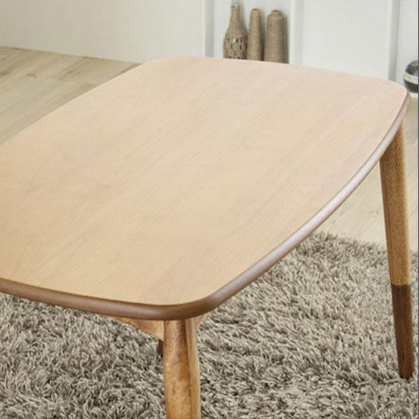 【送料無料】90こたつテーブル 高さ調節可能で、夏でも冬でも、フローリング、ソファでも、その時のスタイルに合わせて自由に使える、万能こたつテーブル。見た目もナチュラルなので、様々なテイストにも合わせやすい。