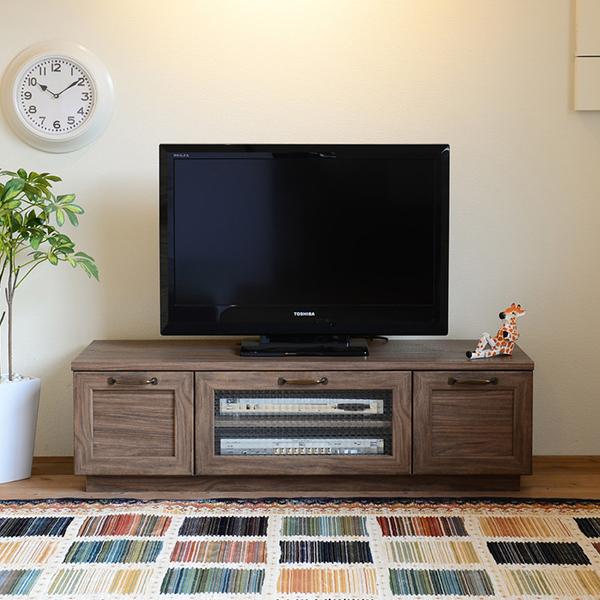 【送料無料】120 ローボード (BR/WH) テレビ台 TV台 テレビボード TVボード 小型 幅120cm スリム リビング 通販 家具 収納 リビングボード ロー AVボード AVラック テレビラック ホワイト ブラウン