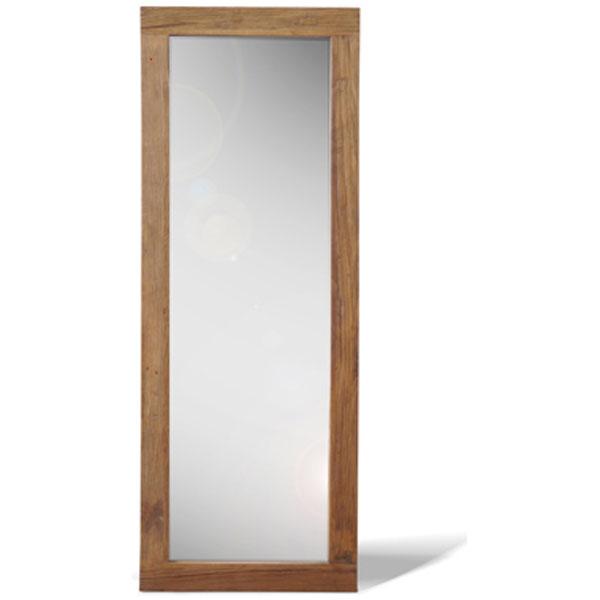 【送料無料】ミラー 60×160cm 全身鏡 高さ160cm 古材を使用したヴィンテージ家具
