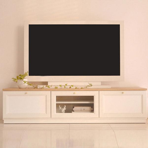【送料無料】 LAI 150TVボード WH テレビ台 テレビボード TV台 ローボード テレビラック 150 北欧 おしゃれ リビングボード シンプル ナチュラル