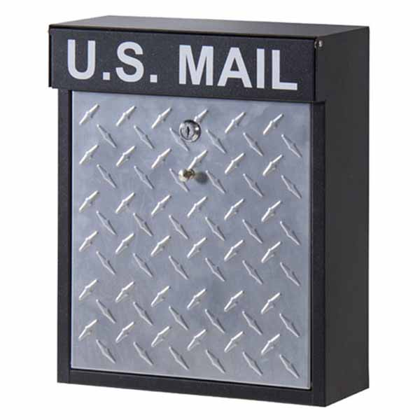 【送料無料】ポスト 郵便受け 郵便ポスト 壁掛け/壁付け インダストリアル メールボックス 男前インテリア ブルックリン POST メールボックス 新聞受け U.S MAIL シンプル/アメリカン/ファクトリー