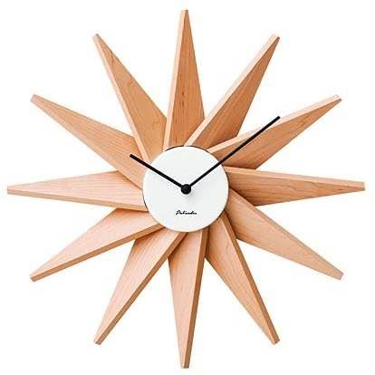 【150円クーポン】 INTERFORM インターフォルム 置き時計 掛け時計 ホワイト 幅40×高さ40×奥行6 Fermat フェルマー CL-3023WH <インターフォルム 新生活応援 インテリア 置時計 おしゃれ 北欧 プラスチック 掛時計 かけ時計 壁掛け>