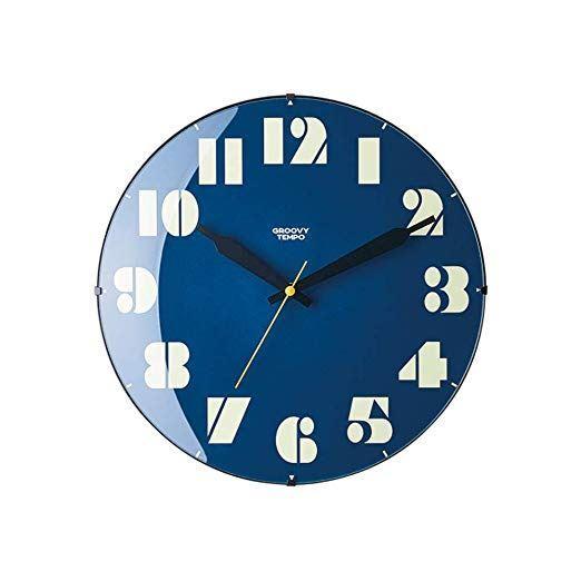 【150円クーポン】 INTERFORM インターフォルム 掛け時計 ネイビー 直径30×奥行5 サムシング レトロ Something Retro CL-3710NV <インターフォルム 新生活応援 インテリア 掛時計 かけ時計 おしゃれ 北欧 プラスチック>