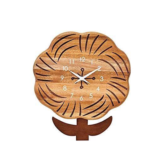 【150円クーポン】 INTERFORM インターフォルム 掛け時計 ブラウン 幅25×高さ28×奥行2.5 クッカ-リリ-Kukka-lili CL-3723BN <インターフォルム 新生活応援 インテリア 掛時計 かけ時計 おしゃれ 北欧>