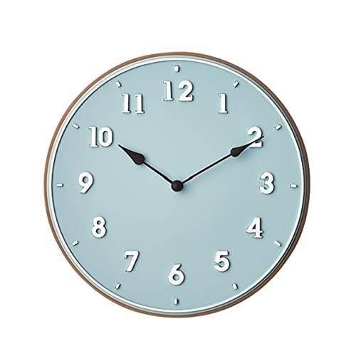 【150円クーポン】 INTERFORM インターフォルム 掛け時計 ブルー 直径30×奥行2.5 パンデュール Pendule CL-3726BL <インターフォルム 新生活応援 インテリア 掛時計 かけ時計 おしゃれ 北欧>