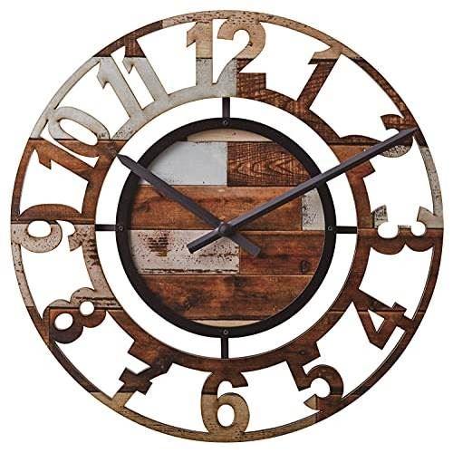 【150円クーポン】 INTERFORM インターフォルム 掛け時計 BERCY ベルシー MX ミックスカラー CL-8325MX <ラッピング不可 インターフォルム 新生活応援 掛時計 かけ時計 壁掛け おしゃれ 北欧 音がしない 連続秒針 インテリア>