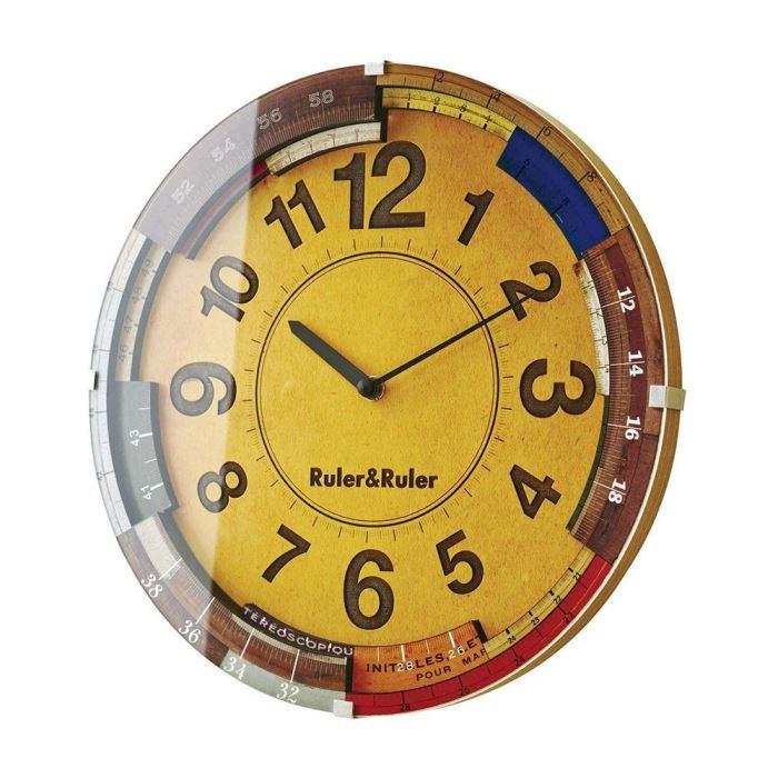 【150円クーポン】 INTERFORM インターフォルム 電波掛け時計 Ruler & Ruler ルーラールーラー CL-9584 <インターフォルム 新生活応援 インテリア 掛け時計 掛時計 かけ時計 電波 壁掛け おしゃれ 北欧>