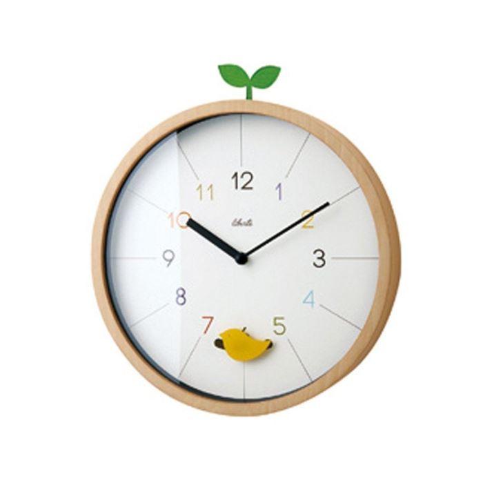 【150円クーポン】 INTERFORM インターフォルム 掛け時計 Drossel ドロッセル ホワイト CL-2945 <ラッピング不可商品 インターフォルム 新生活応援 掛時計 かけ時計 壁掛け おしゃれ 北欧 音がしない 連続秒針 インテリア プラスチック>