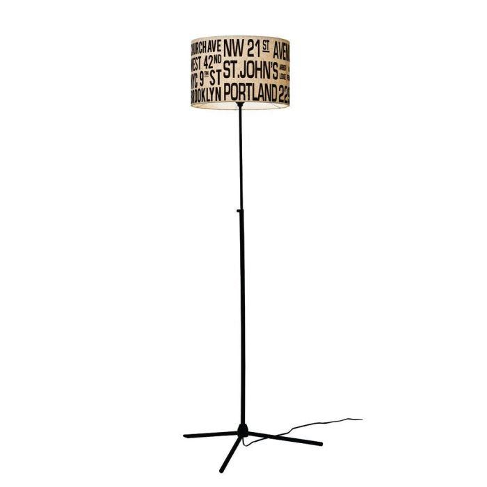 【150円クーポン】 INTERFORM インターフォルム フロアライト Bus Roll Floor Lamp バスロールフロアランプ アイボリー 電球無し LT-1266IV <インターフォルム 新生活応援 照明 インテリア おしゃれ 北欧 led led電球 ledライト>