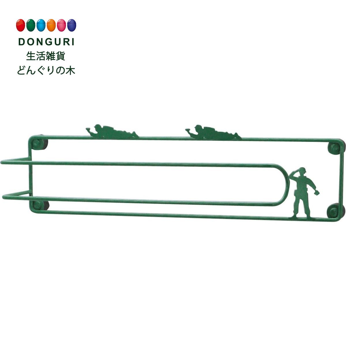 【150円クーポン】 現代百貨 キッチン収納 Kitchen ARMY MEN マグネット タオルハンガー A024 × 3個