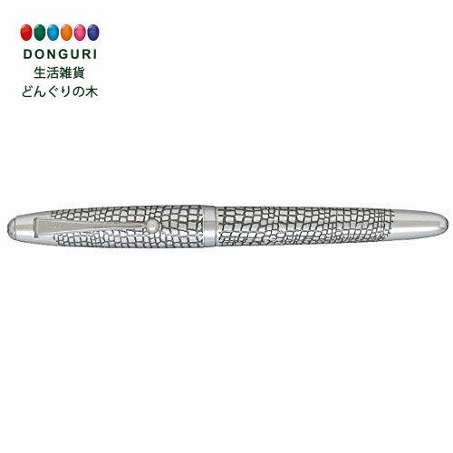 【150円クーポン】 PILOT パイロット 万年筆 シルバーン 石だたみ 中字 M FK-5MS-ID-M