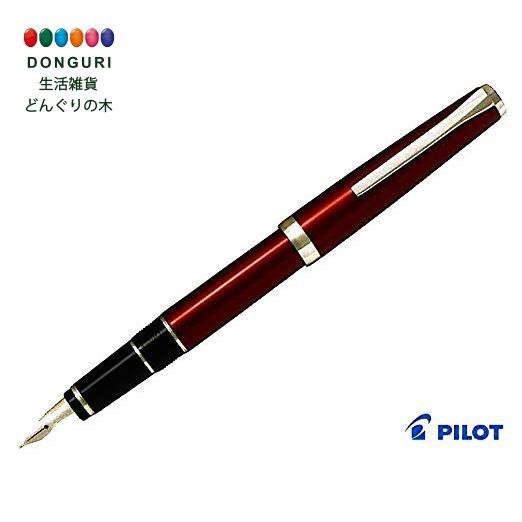 【150円クーポン】 PILOT パイロット 万年筆 エラボー レッド 中字軟 SM FE-25SR-RSM