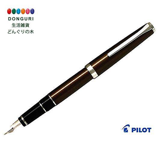 【150円クーポン】 PILOT パイロット 万年筆 エラボー ブラウン 中字軟 SM FE-25SR-BNSM