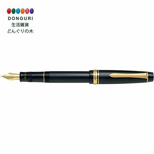 【150円クーポン】 PILOT パイロット 万年筆 ジャスタス 95 ストライプ ブラック 細字 F FJ-3MR-SB-F