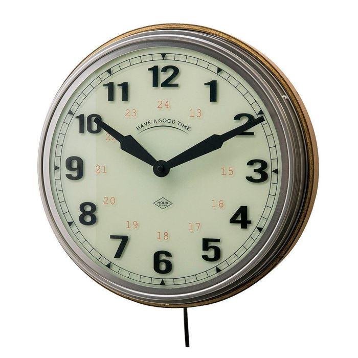 【150円クーポン】 INTERFORM インターフォルム 壁掛け時計 ルヴェロル CL-2560 <インターフォルム 新生活応援 インテリア 掛時計 かけ時計 壁掛け おしゃれ 北欧 プラスチック>