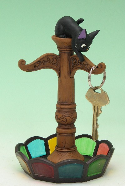 "Kiki's Delivery Service key hanger ""Antique a pole"""