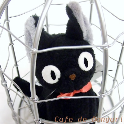 Kiki's Deliverly Service Osumashi Jiji in basket