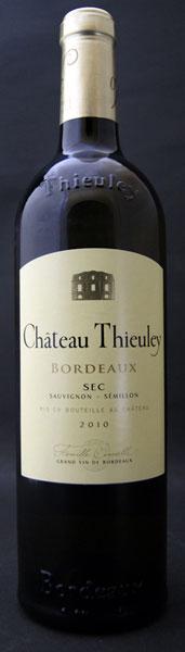 Chateau テューレイ Blanc Chateau Thieuley Blanc