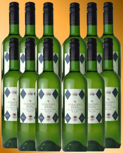エストラテゴ・レアル・ブランコ (ドミニオ・デ・エグレン) 【12本セット】 ESTRATEGO REAL Blanco (Dominio de Eguren) 【12bottle set】【うち飲み ワインセット】【白ワイン】【スペイン】