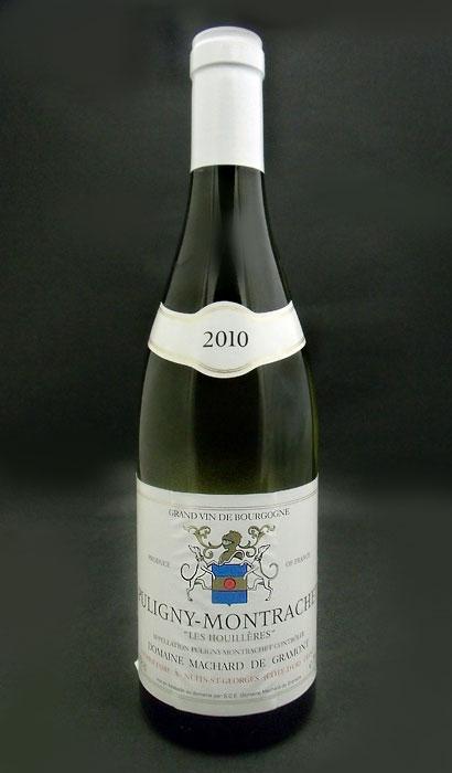 퓨리니・몬랏시・레・위 엘[2010] (마샤르・드・그라몬) Puligny Montrachet Les Houileres [2010] (Machard de Gramont)