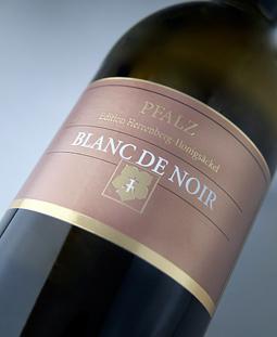 Pfalz Blanc-de-noir Q. b. A. ファインヘルプ ( Herrenberg ホーニッヒゼッケル ) Pfalz blanc de noir Q. b. A. Feinherb (Winzer eG Herrenberg Honigsackel)