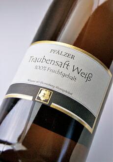 ファルツァー トラウベンザフト ( Herrenberg ホーニッヒゼッケル ) Pfalzer Traubensaft weiss (Winzer eG Herrenberg Honigsackel)