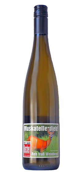 Muskateller deep Q. b. A. grape ( Jean Boucher ) Muskateller Dieb Q. b. A. trocken (Weingut Jean Buscher)