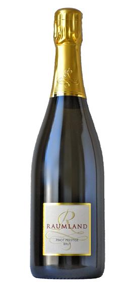 피노 프레스 티 지 블랑 드 누아 [2007] (ラウムラント) Pinot Prestige Blanc de Noir Sekt brut [2007] (Sekthaus RAUMLAND)