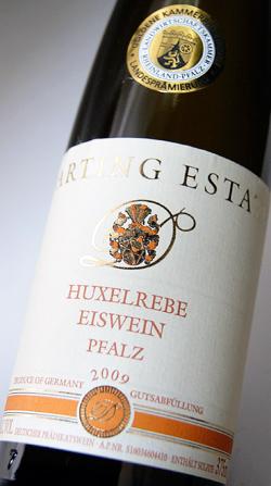 デュルクハイマー huxel icevayne 375 ml (ダルティング) Duerkheimer Huxelrebe Eiswein 375ml (Darting)