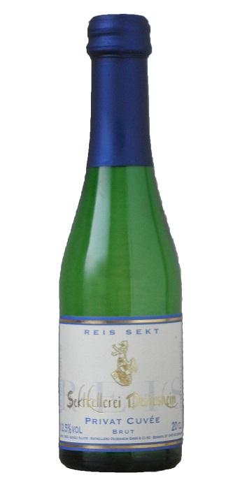 プリヴァート cuvée Sekt Brut ( ゼクトケラーライ deidesheim ) 200 ml Private Cuvee Sekt brut (Sekltkellerei Deidesheim) 200 ml.