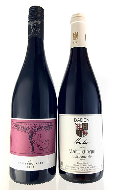 ドイツ最優秀赤ワイン醸造家 飲み比べ 2本セット 【フリードリッヒ・ベッカー、ベルンハルト・フーバー】【赤 ワイン】【うち飲み ワインセット】