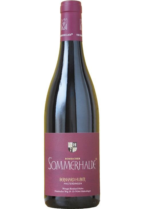 ボンバッハー・ゾンマーハルデ シュペートブルグンダー [R] Q.b.A. トロッケン [2016] (ベルンハルト・フーバー) Bombacher Sommerhalde Spaetburgunder [R] Q.b.A. trocken [2016] (Weingut Bernhard Huber) 【ドイツ 辛口 赤ワイン】