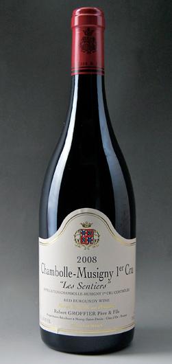 尚博尔瓶 Les Sentier [2008] (罗伯特 Groffier) Chambolle 瓶 1er Cru Les Sentiers [2008] (罗伯特 Groffier)