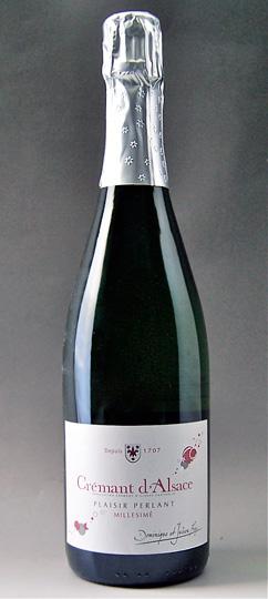 Clément, d'Alsace, Plaisir, Perrin, Extras & NV (ドミニク・エ・ジュリアン・フレイ) Brut Cremant d'Alsace plaisir perlant EXTRA Brut NV (DOMINIQUE ET JULIEN FREY )