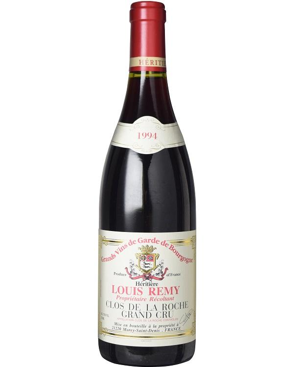 クロ・ド・ラ・ロシュ グラン・クリュ [1994] (ドメーヌ・ルイ・レミ) Clos De La Roche Grand Cru [1994] (Domaine Louis Remy) 赤ワイン/ブルゴーニュ/コート・ド・ニュイ/モレ・サン・ドニ/AOCクロ・ド・ラ・ロッシュ/750ml