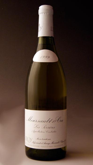 【本物新品保証】 ムルソー・ペリエール プルミエ・クリュ [1999] (メゾン・ルロワ) (NEGOCIANT) Meursault Perrieres 1er Cru [1999] (Maison Leroy) (NEGOCIANT) 【白 ワイン】【フランス】【ブルゴーニュ】, 多度町 e2f464e6
