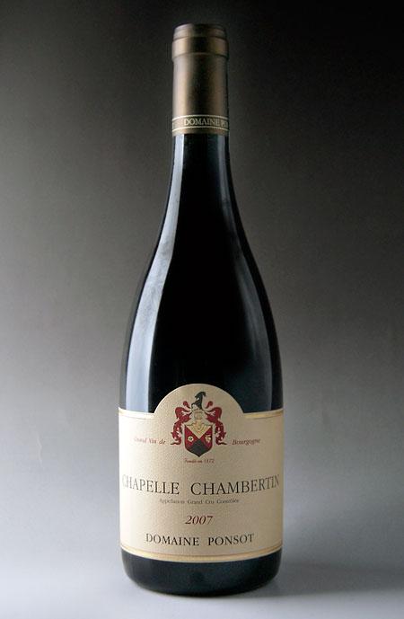 【送料関税無料】 シャペル・シャンベルタン グラン・クリュ [2007] (ドメーヌ・ポンソ)Chapelle Chambertin Grand Cru [2007] (Domaine PONSOT) 【赤 ワイン】, 広川町 5e7eaa06