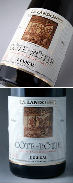 大衣·rotira·randonnu[1998](E.gigaru)Cote Rotie la Landonne[1998](E.Guigal)