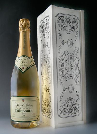 Grand Blanc Brut [in 1988] (Champagne / Filipina) Grand Blanc Brut [in 1988] (Champagne Philipponnat)