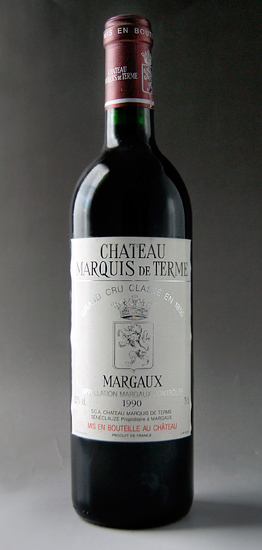 Château Marquis de Thermes [1990] Chateau Marquis de Terme [1990]
