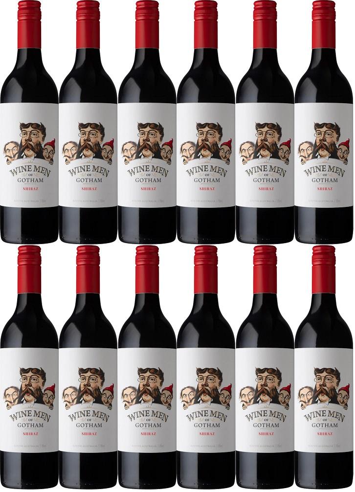 [12本セット] ワイン・メン・オブ・ゴッサム・シラーズ (ゴッサム・ワインズ) Wine Men of Gotham Shiraz [現行ヴィンテージ] (Gotham Wines) 赤/オーストラリア/ 750ml×12本
