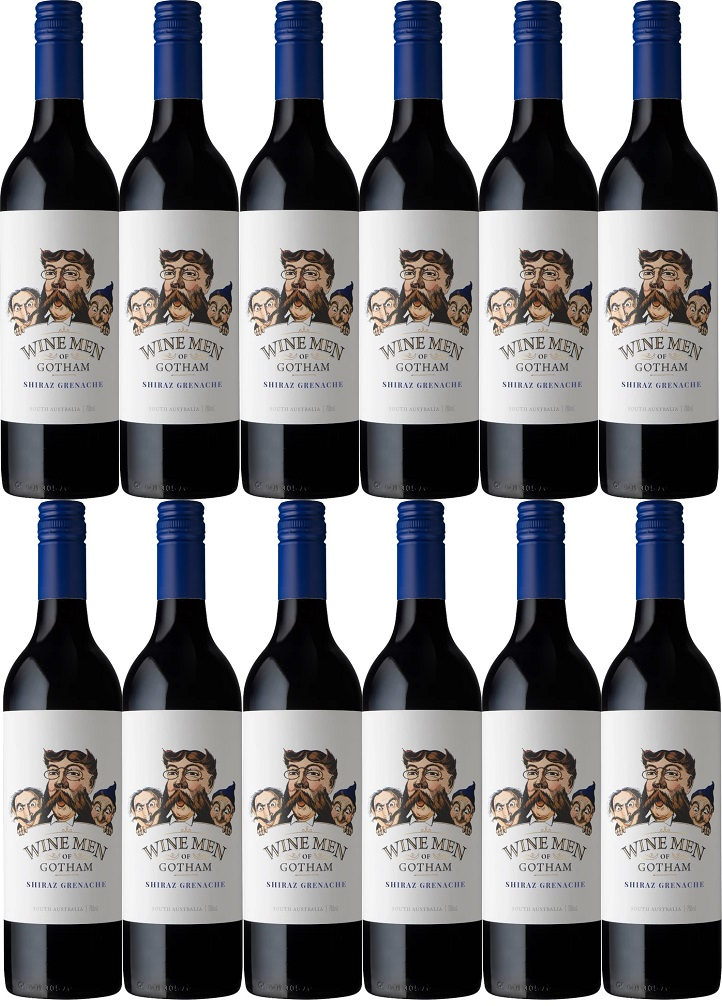 [12本セット] ワイン・メン・オブ・ゴッサム・シラーズ・グルナッシュ (ゴッサム・ワインズ) Wine Men of Gotham Shiraz Grenache [現行ヴィンテージ] (Gotham Wines) 赤/オーストラリア/ 750ml×12本