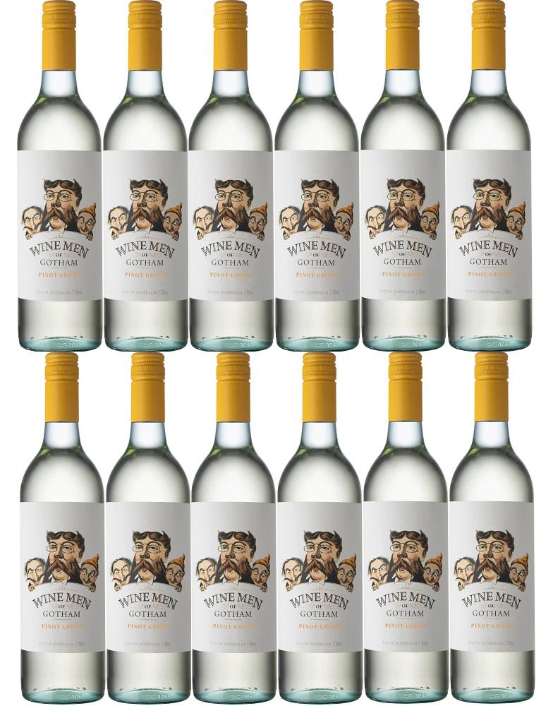 [12本セット] ワイン・メン・オブ・ゴッサム・ピノ・グリージョ (ゴッサム・ワインズ) Wine Men of Gotham Pinot Grigio [現行ヴィンテージ] (Gotham Wines) 白/やや辛口/オーストラリア/ 750ml×12本